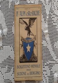 CLUB ALPINO ITALIANO LE ALPI OROBICHE Bollettino Mensile della sezione di Bergamo   Novembre 1926