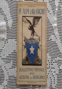 CLUB ALPINO ITALIANO LE ALPI OROBICHE Bollettino Mensile della sezione di Bergamo   Gennaio 1927