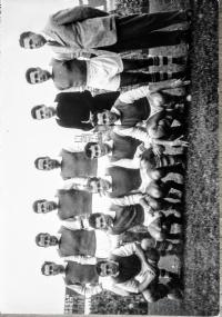 S.P.A.L. Campionato 1952-53 vera fotografia B / N (stampa dell'epoca)