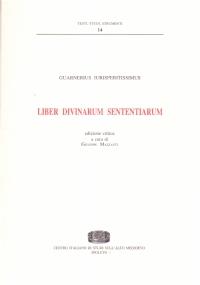Liber divinarum sententiarum