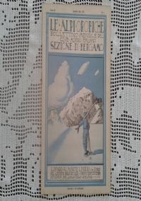 CLUB ALPINO ITALIANO LE ALPI OROBICHE Bollettino Mensile della sezione di Bergamo   Aprile 1930