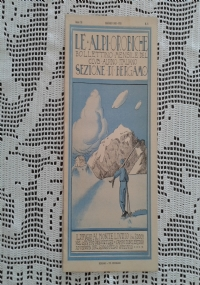 CLUB ALPINO ITALIANO LE ALPI OROBICHE Bollettino Mensile della sezione di Bergamo   Giugno 1930