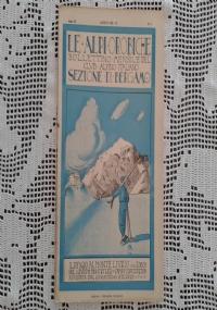 CLUB ALPINO ITALIANO LE ALPI OROBICHE Bollettino Mensile della sezione di Bergamo   Settembre 1930