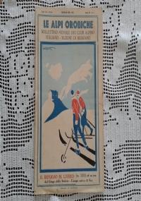 CLUB ALPINO ITALIANO LE ALPI OROBICHE Bollettino Mensile della sezione di Bergamo   Febbraio 1931