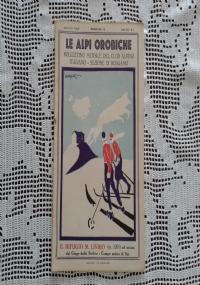CLUB ALPINO ITALIANO LE ALPI OROBICHE Bollettino Mensile della sezione di Bergamo   Giugno 1931