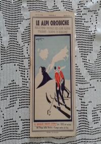 CLUB ALPINO ITALIANO LE ALPI OROBICHE Bollettino Mensile della sezione di Bergamo   Agosto 1931