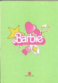 Quaderno vintage anni ottanta : Barbie Rock Star