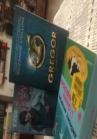 Set di tre libri: Gregor, la prima profezia; Young Sherlock Holmes, Nube mortale; L'amore è un marziano.