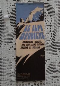 CLUB ALPINO ITALIANO LE ALPI OROBICHE Bollettino Mensile della sezione di Bergamo   Febbraio 1932