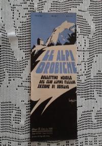 CLUB ALPINO ITALIANO LE ALPI OROBICHE Bollettino Mensile della sezione di Bergamo   Maggio 1932
