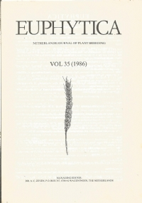 Euphytica : Netherlands journal of plant breeding. Volume 34 (1985)