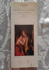 CATALOGO D'ASTA SOTHEBY'S  Master Paintings from the Wetzlar Collection    Paris 2 juli and London 9 juli 2008