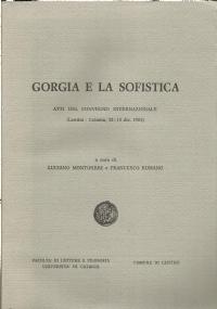 Gorgias in der antiken Tradition