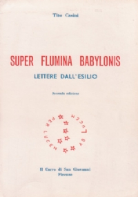 SUPER FLUMINA BABYLONIS - LETTERE DALL'ESILIO