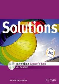 SOLUTIONS INTERMEDIATE STUDENT'S BOOK CON MULTI-ROM + WORKBOOK