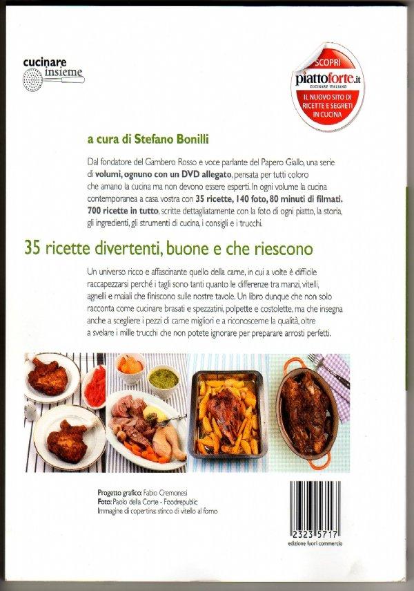 ARROSTI, BRASATI, SPEZZATINI & Co. (Ricettario illustrato, Libro + DVD) [COME NUOVO]