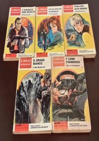 """Fantômas N. 21, """"Il delitto di Anversa"""", Arnoldo Mondadori Editore Novembre 1964."""