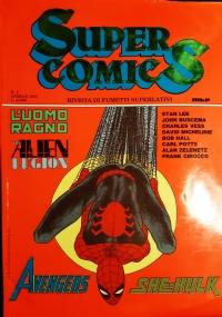 Supercomics n.10, rivista di fumetti superlativi