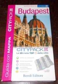 BUDAPEST CITYPACK TOP 25 CON MAPPA