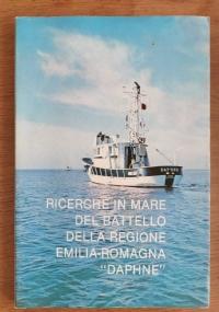 Ricerche in mare del battello della regione emilia-romagna Daphne