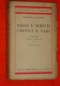 Saggi e scritti critici e vari, volume quarto