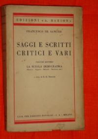Saggi e scritti critici e vari, volume ottavo studio su Giacomo Leopardi