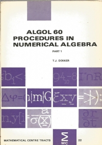 ALGOL 60 procedures in numerical algebra. Part 2