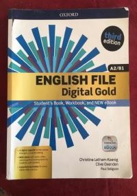 ENGLISH FILE Digital Gold A2/B1 third edition