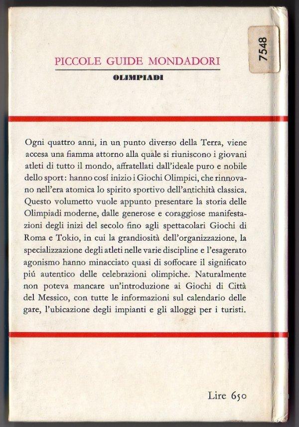 OLIMPIADI (Piccole Guide Mondadori) - [COME NUOVO]
