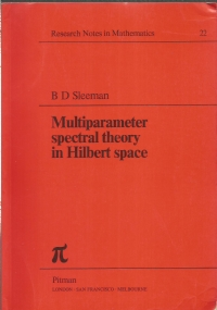 Multiparameter spectral theory in Hilbert space