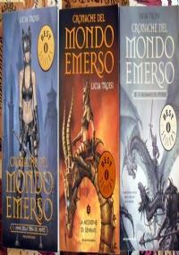 Cronache del mondo emerso - lotto 3 libri fantasy SERIE COMPLETA