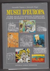 Musei d'Europa. Guida alle collezioni pubbliche d'arte moderna e contemporanea