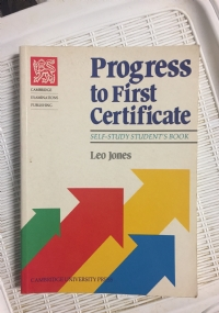 Progress to first certificate