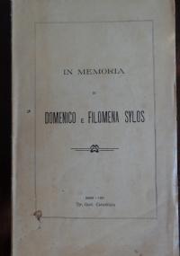 In memoria di Domenico e Filomena Sylos