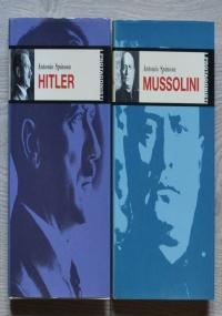 Lotto 2 libri Antonio Spinosa: Hitler + Mussolini