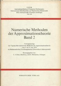 Finite Elemente und Differenzenverfahren : Spezialtagung über Finite Elelemente… vom 25. bis 27. September 1974 an der Technischen Universität Clausthal