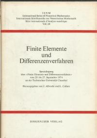 Numerische Behandlung von Differentialgleichungen mit besonderer Berücksichtigung freier Randwertaufgaben : Tagung am Mathematischen Forschungsinstitut, Oberwolfach, vom 1. bis 7. Mai 1977