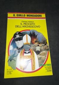 IL PECCATO DELL'ARCIVESCOVO       IL GIALLO MONDADORI 1770