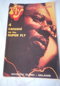 Spartito musicale Curtis  Mayfield 4 CANZONI DAL FILM SUPER FLY