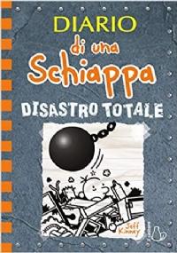 Diario di una schiappa. Disastro totale ++ offerta flash ++ spilla   ++  spedizione corriere gratuita