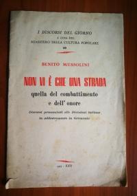 scritti e discorsi di Benito Mussolini