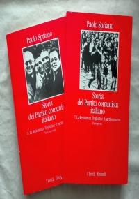 STORIA DEL PARTITO COMUNISTA ITALIANO n. 3-4: Gli anni della clandestinità (2 volumi)