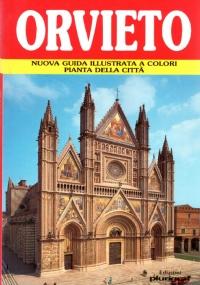 ORVIETO. Nuova guida illustrata a colori, pianta della città