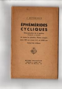 Ephémérides Cycliques (Détermination de la position de toutes les planètes)