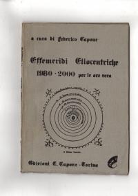 Effemeridi Eliocentriche 1980-2000 per le ore zero