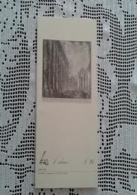 Incisioni dal XV al XX secolo   Catalogo illustrato n. 25 inverno 1995