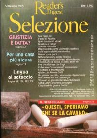 Selezione dal Reader's Digest Ottobre 1995