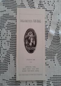 FOGLI e fogli...  CATALOGO XLII-LIBRI 2°/1999