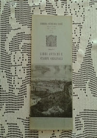 LIBRI RARI E STAMPE ORIGINALI  LIBRERIA ANTIQUARIA SOAVE CATALOGO N. 31 1983