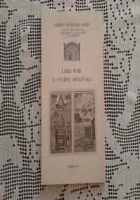 LIBRI ANTICHI, RARI E D'OCCASIONE LIBRERIA VINCENZO BERISIO CATALOGO N. 13